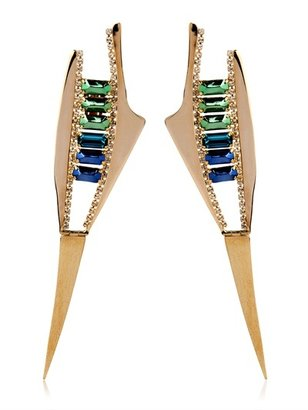 Iosselliani Deco Spike Earrings