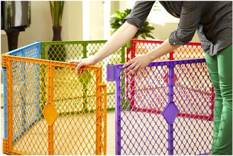North States Superyard Colorplay Gate