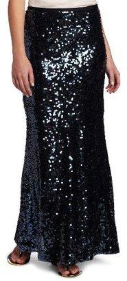 Calvin Klein Women's Sequin Maxi Skirt