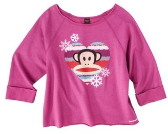 Paul Frank Juniors Julius Heart Graphic Tee - Azalea