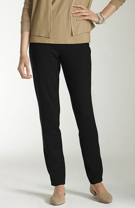 J. Jill Ponte slim-leg knit pants