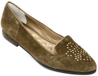 Me Too Becky Studded Suede Loafers