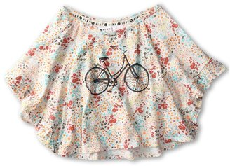 Roxy Kids - Break The Ice Raglan Top (Toddler/Little Kids) (Seaspray Floral) - Apparel