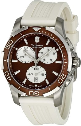 Victorinox Women's 241503 Brown Dial Chronograph Watch