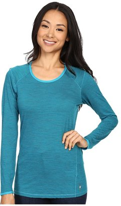 Smartwool - NTS Micro 150 Pattern Crew Women's Long Sleeve Pullover $80 thestylecure.com