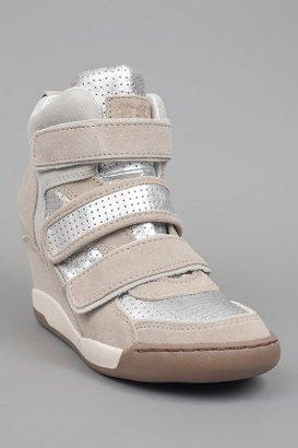 Ash Alex Bis Wedge Sneaker Clay/Silver