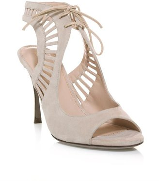 Sergio Rossi Naos cut-out high heel sandals