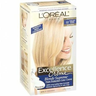 L'Oreal Excellence Creme Haircolor Extra Light Natural Blonde 02