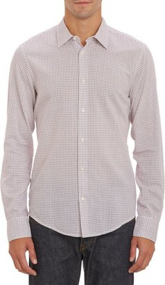 Vince Check Shirt-White