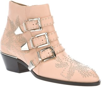 Chloé buckled ankle boot
