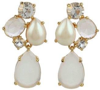 Kate Spade Crystal Chapel Cluster Drop Earrings