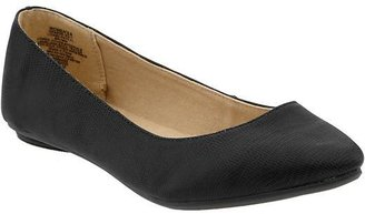 Old Navy Women's Faux-Lizard Pointed Flats