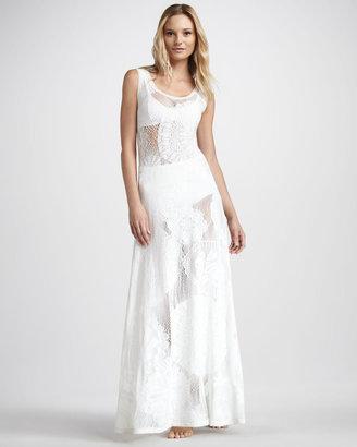 Jean Paul Gaultier Lace Maxi Dress