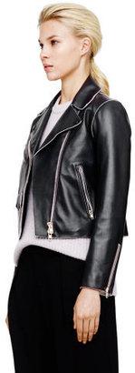 Club Monaco Verushka Leather Jacket