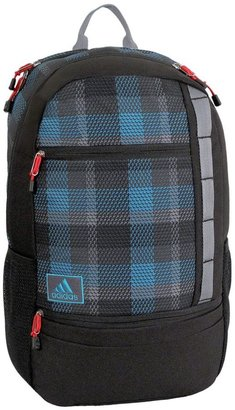 adidas launch tri-plaid 15.4-in. laptop backpack