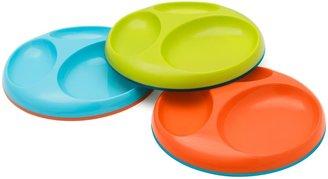 Boon SAUCER Stayput Divider Plate - Blue/Green/Orange - 2 ct