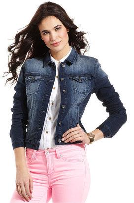 Calvin Klein Jeans Petite Jacket, Denim, Dark Wash