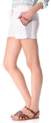 Monrow Super Soft Contrast Pocket Shorts