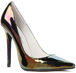 Jeffrey Campbell The Darling Shoe in Black Iridescent