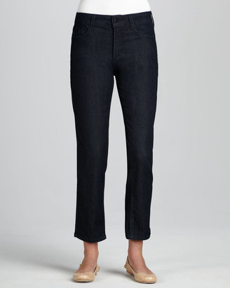 Not Your Daughter's Jeans Alisha Dark Enzyme Ankle Jeans, Petite
