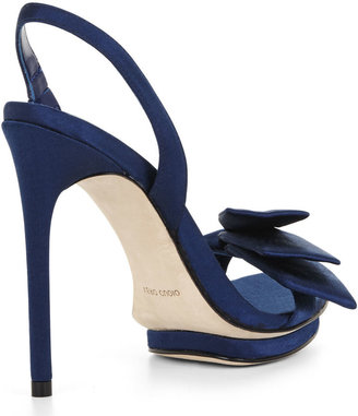 BCBGMAXAZRIA Lavi Bow Sling-Back High-Heel Shoe