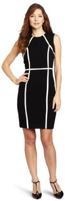 Calvin Klein Women's Lux Stretch Rayon Career Dress