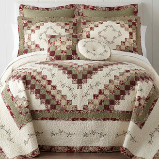 Cassandra Home ExpressionsTM Pieced Bedspread