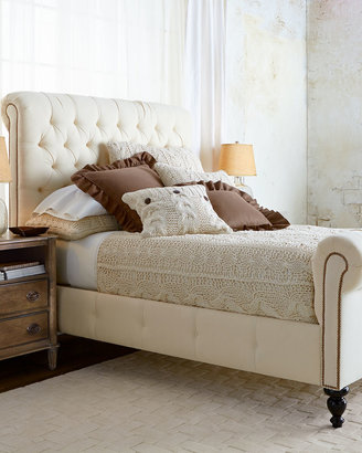 Old Hickory Tannery Dunlap Queen Bed