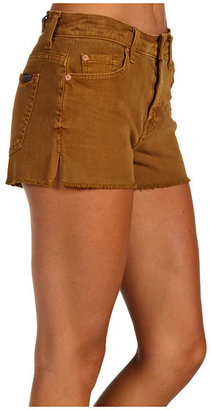 7 For All Mankind Colored Cut-Off Short w/ Split Seam