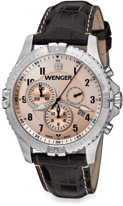 Wenger Men's Squadron Chrono Copper Dial Watch