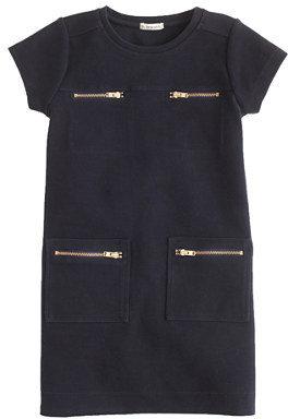 J.Crew Girls' zip-pocket dress