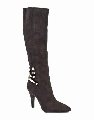 BCBGeneration Effie Suede Stiletto Heeled Boots