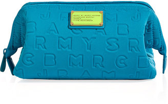 Marc by Marc Jacobs Atomic Blue MBMJ Framed Big Bliz Cosmetic Bag