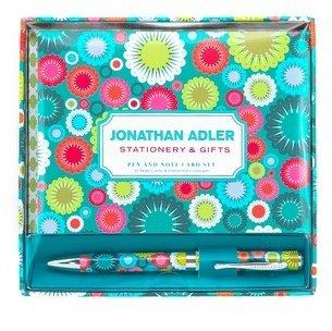 Jonathan Adler Pen & Notecard Set