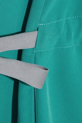 Maison Martin Margiela Brushed-satin mini dress