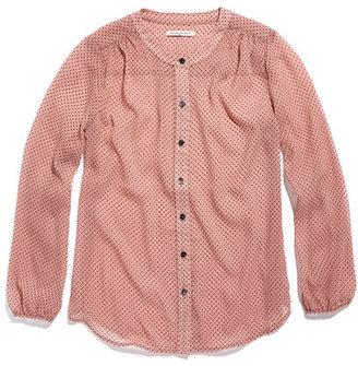 Madewell Pindot blouse