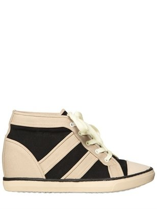 Isabel Marant 80mm Baltimore Canvas Sneakers