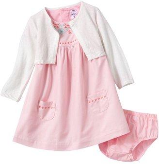 Carter's floral woven dress set - baby