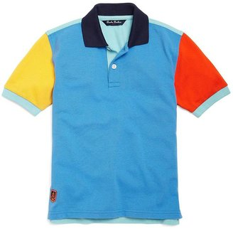 Brooks Brothers Color-Block Pique Polo