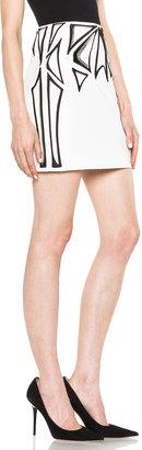Sass & Bide Making Sense Cotton-Blend Skirt in Ivory