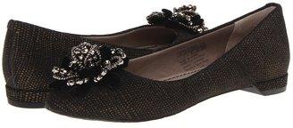 Rockport Ashika Glam Flat (Black) - Footwear