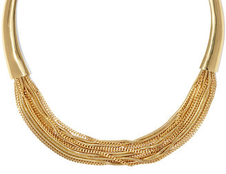 Vince Camuto Horn Chain Necklace
