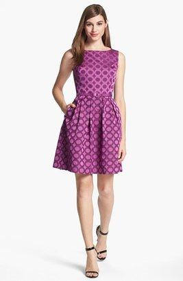 Trina Turk 'Blaze' Sleeveless Fit & Flare Dress