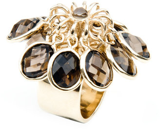 Andara Smoky Quartz Charm Ring