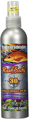 Reef Safe - Biodegradable Waterproof Sunscreen Spray - SPF 30+ - 1 Pack $11.95 thestylecure.com