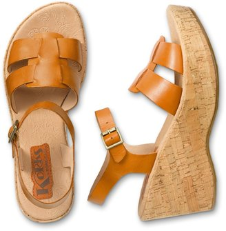 Eddie Bauer Korks by Kork-Ease® Brie Wedge Sandals