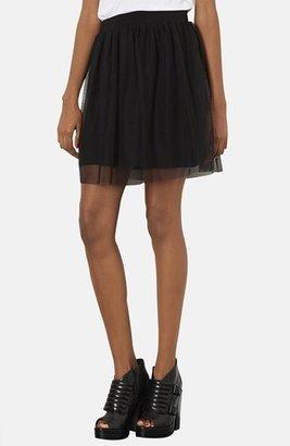 Topshop Tulle Miniskirt