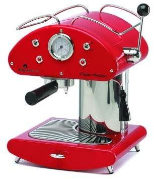 Espressione EspressioneCafe Retro Expresso Maker in Red