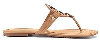 Tory Burch Miller Sandals, Patent Leather $198 thestylecure.com
