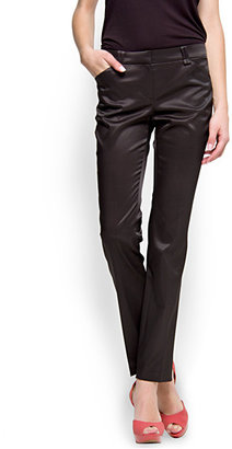 MANGO Straight-cut suit trouser